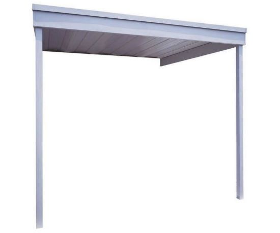 Arrow 10x10 Steel Patio Cover Kit (PC1010) - Perfect patio for your vehicle.