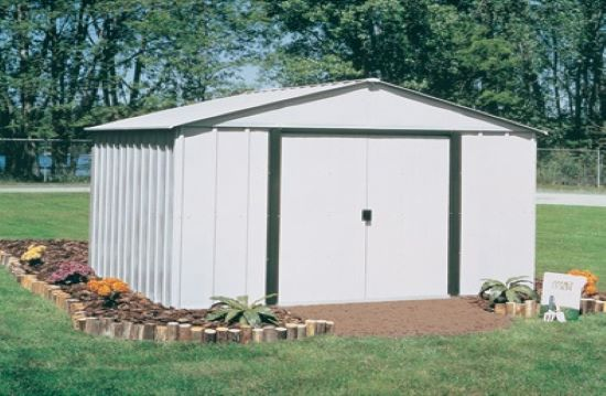 Arrow 10x8 Arlington Steel Shed AR108-Perfect for outdoor storage sheds.