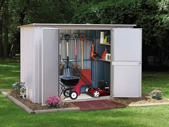 Arrow 8x3 Garden Shed Kit GS83 - Perfect storage for your equipment.