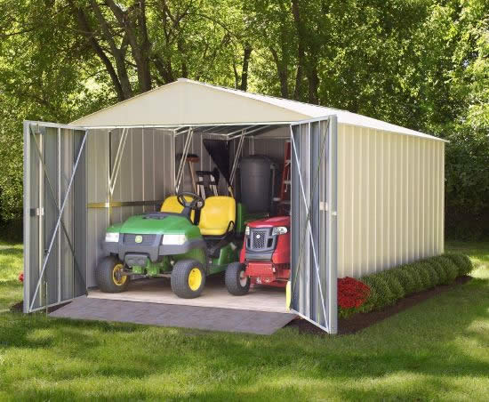 Arrow Commander 10x30 Storage Building Kit (CHD1030) - Perfect storage for your equipment.