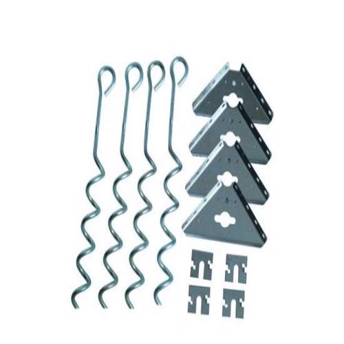 Arrow Corkscrew Anchor Kit (AK600) Protects your shed from strong winds.