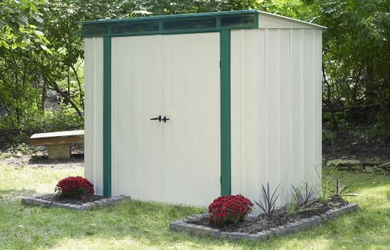 Arrow EuroLite 8x4 Lean Too Shed Kit (ELPHD84) - Perfect storage for your equipment.