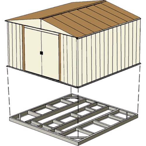 Arrow Sheds Foundation Base Kit 8x8, 10x8 or 10x9 FDN109 can be used for outdoor foundation