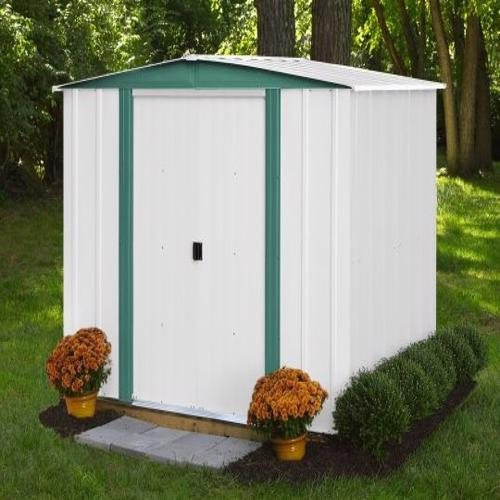 Arrow Hamlet 6x5 Storage Shed Kit (HM65-A) - a great solution for your yard tools and equipment.