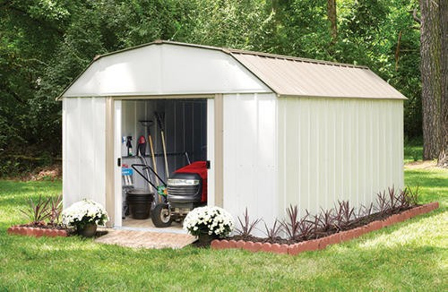 Arrow Lexington 10x14 Shed Kit LX1014-Perfect storage for your garden tools.