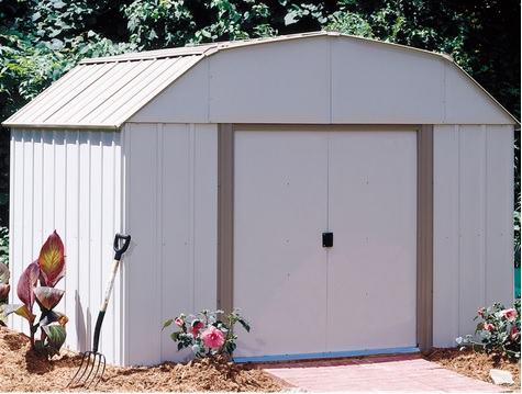 Arrow Lexington 10x8 Storage Shed Kit LX108 perfect storage for your backyard
