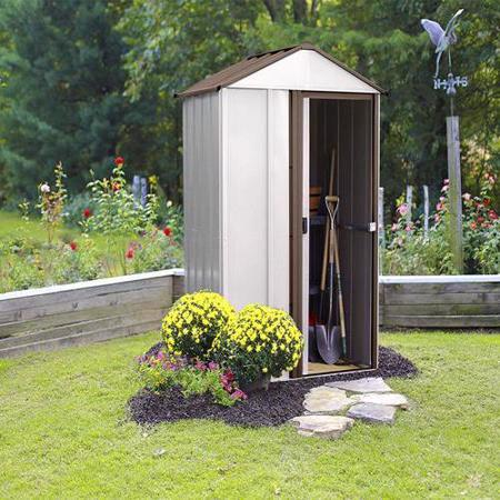 Arrow Newburgh 5x4 Storage Shed Kit (NW54) Ideal addition to your lawn, garden or backyard.