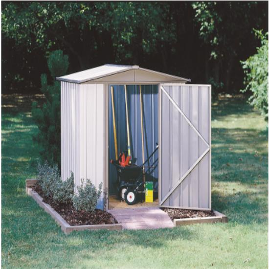 Arrow Sentry 6x5 Metal Storage Shed Kit (SY65) Ideal addition to your backyard or lawn.