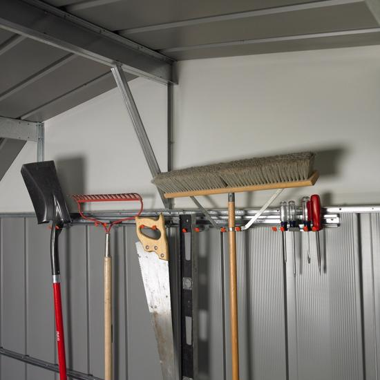 Arrow Shed Tool Hanger Kit (TH100) Helps you organize your tools and equipment