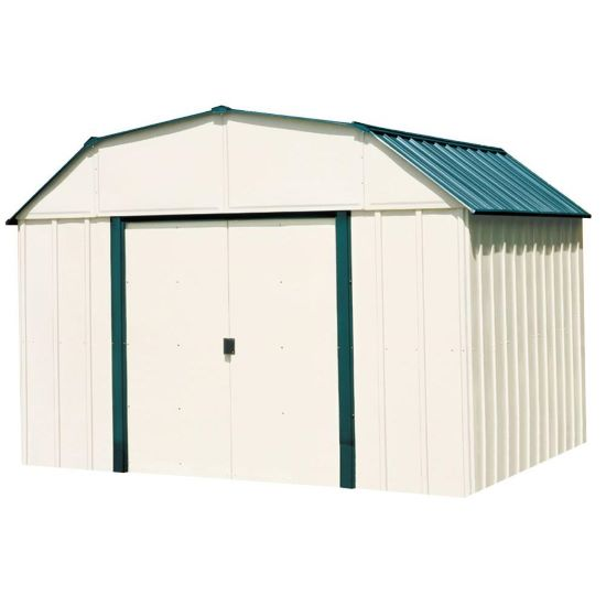 Arrow Vinyl Sheridan 10x14 Storage Shed Kit (VS1014) - Perfect storage for your equipment.