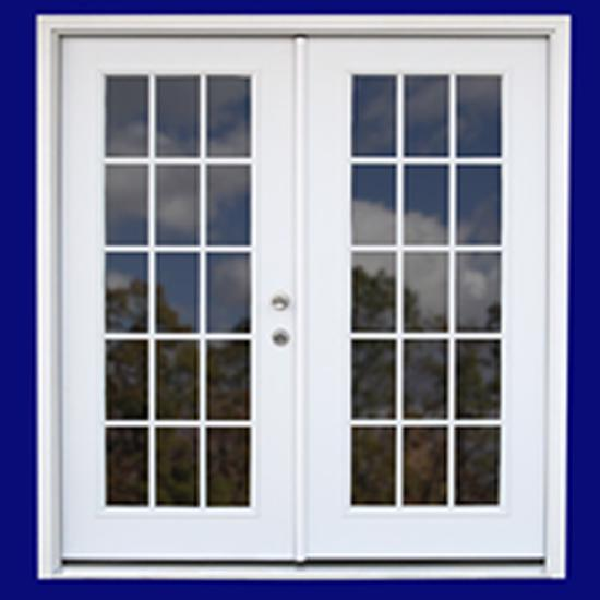 Best Barns Belmont 12x20 Wood Storage Shed Kit (belmont_1220) Optional 15-Lite French Door