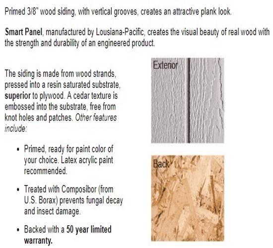 Best Barns Belmont 12x20 Wood Storage Shed Kit (belmont_1220) Siding Material