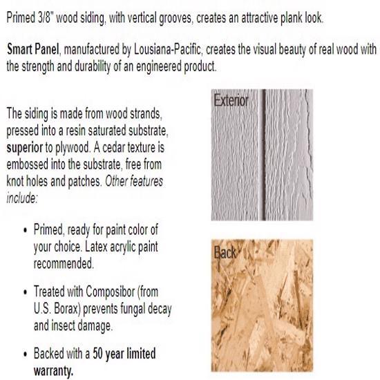 Best Barns Richmond 16x20 Wood Storage Shed Kit (richmond1620) Siding Material
