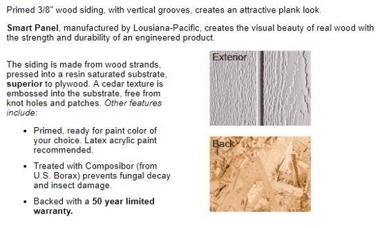Best Barns Tahoe 12x20 Wood Storage Garage Shed Kit (tahoe_1220) Siding Material