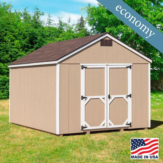 EZ-Fit Craftsman  Wood Storage Shed Kit - Suitable for your storage needs