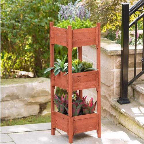 Leisure Season 3-Tier Planter Box (PB2021) Excellent protection for your growing plants.