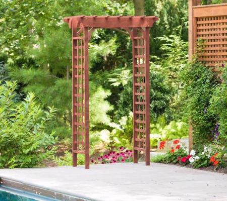 Leisure Season Arbor (WA6204) This arbor will add beauty to your garden.