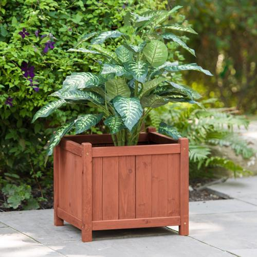Leisure Season Square Planter Box (PB20011) Ideal for your growing plants.