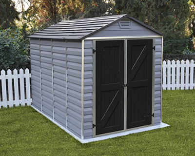 Palram 6x12 Skylight Storage Shed Kit - Tan (HG9612T) This shed will look great and suit every backyard setting.