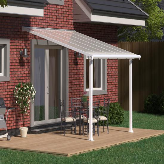 Palram Olympia 10x10 Aluminum Patio Cover White Hg8810w