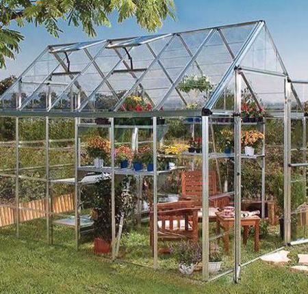 Palram 8x20 Snap & Grow Hobby Greenhouse Kit - Silver (HG8020) This greenhouse is an ideal additional to your garden.