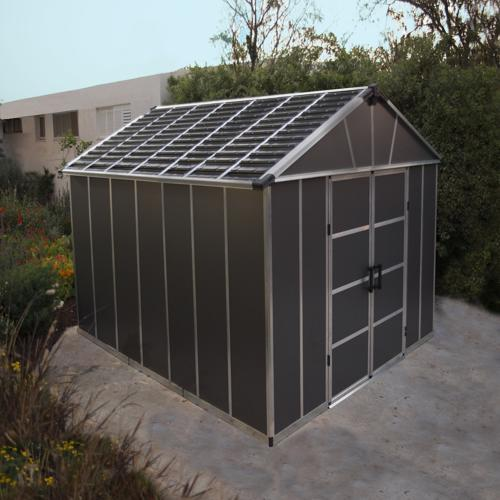 Palram Yukon 11x9 Storage Shed Kit - Gray (HG9909SGY) This shed is great and an ideal solution if you need space for storing home and garden tools.