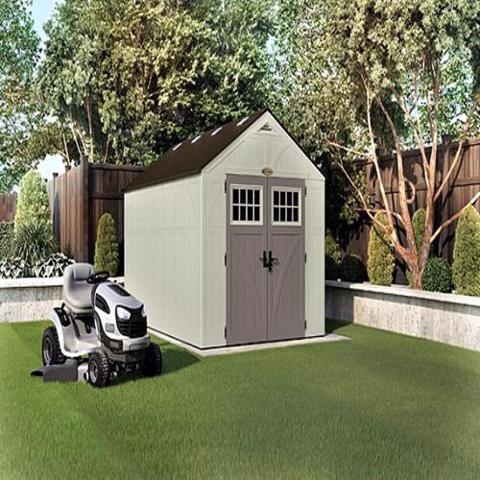 Suncast 8x13 Tremont Storage Shed Kit w/ Floor (BMS8130) This shed is an ideal addition to any backyard settings.